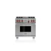 """Wolf 36"""" Dual Fuel Range - 4 Burners And Infrared Griddle"""