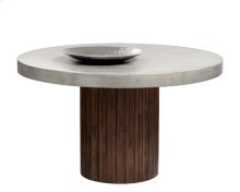 Duomo Round Dining Table - Brown