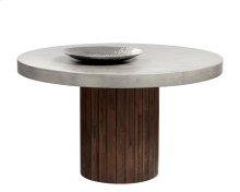 Duomo Round Dining Table - Brown