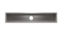 "UrbanEdge® 003622 - undermount stainless steel Bar sink , 42"" × 7"" × 6"""