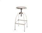 Colby Adjustable Barstool - Silver Product Image