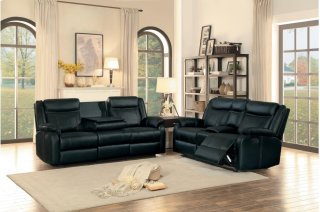 Jude Reclining Sofa w/ Drop-Down Cup Holders