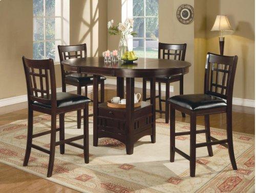 5 PC Set:c H Table W/ 4 Stools