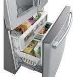 (tm) Series 22.1 Cu. Ft. Counter-Depth French-Door Refrigerator With Door In Door And Hands-Free Autofill