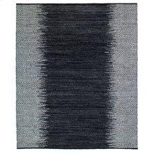 8'x10' Size Leather Woven Diamond Rug