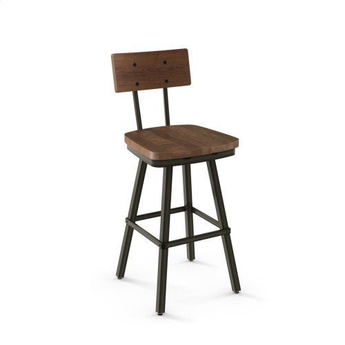 Jetson Swivel Stool (wood)