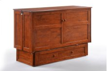 Clover Murphy Cabinet Bed in Cherry Finish