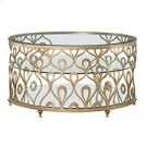 Bob Mackie Round Cocktail Table Product Image