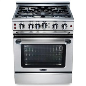 "CapitalPrecision 30"" Gas Self Clean Range"