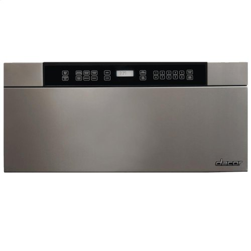 """Discovery 24"""" Microwave-In-A-Drawer in Black Glass"""