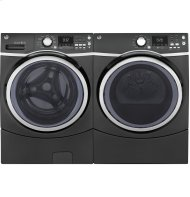 SCRATCH & DENT LAUNDRY PAIR- GE® 7.5 cu. ft. Capacity Front Load Washer and Matching Electric Dryer with Steam