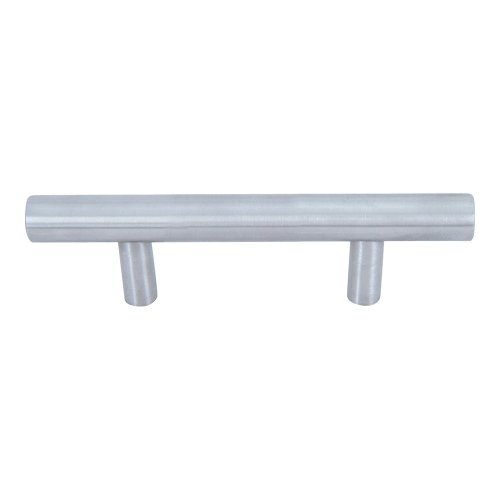 Linea Rail Pull 3 Inch (c-c) - Brushed Nickel