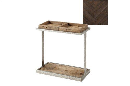 Rawlins Accent Table, Dark Echo Oak