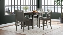 Manchester Upholstered Dining Chair - Grey