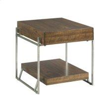 Palermo Rectangular Drawer End Table