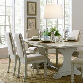 Opt 5 Piece Trestle Table Set