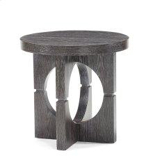 230-930 Flint Round Lamp Table