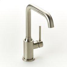 Single Lever Lavatory Faucet Taos Series 17 Satin Nickel