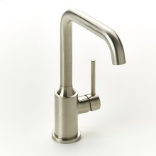 Single Lever Lavatory Faucet Taos Series 17 Satin Nickel