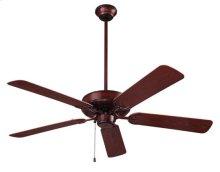 "Outdoor Series Ceiling Fan, 52"" Diameter, in Weathered Bronze Finish"