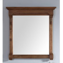 "Brookfield 39.5"" Mirror, Country Oak"