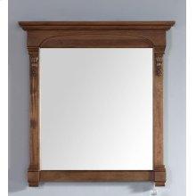 "Brookfield 39.5"" Mirror, Country Oak"