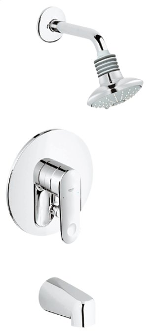 Grohe Starlight Chrome Pressure Balance Valve Bath Combination Product Image