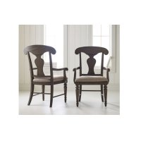 Brookhaven Splat Back Arm Chair Product Image