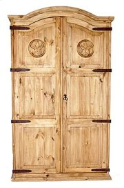 Full Door Armoire W/star Product Image