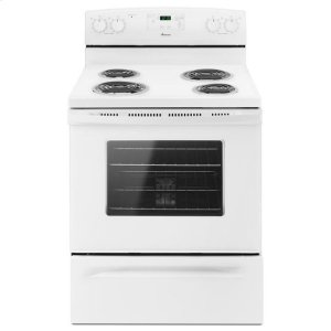 AmanaAmana(R) 30-in. Amana(R) Electric Range Oven with Storage Drawer - White