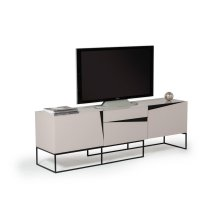 Modrest Hope Modern Grey Gloss TV Stand