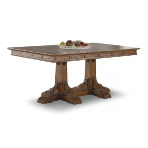 FlexsteelSonora Rectangular Pedestal Dining Table