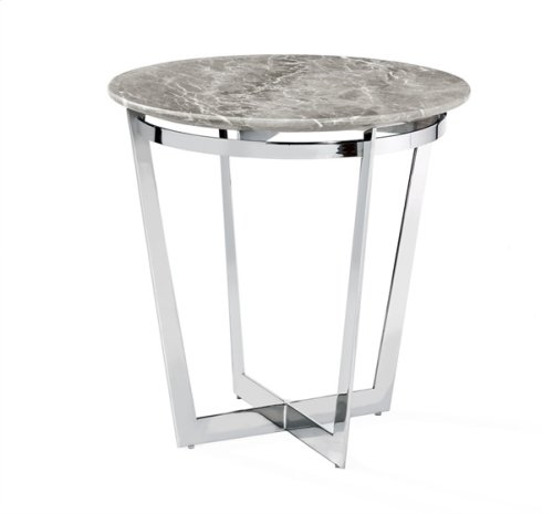 Wyatt Side Table - Italian Grey