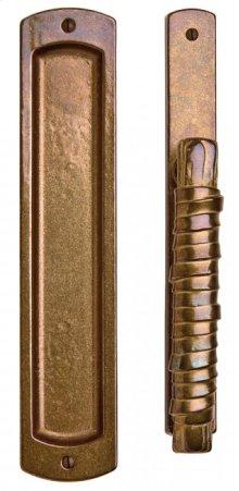 "Curved Lift & Slide Door Set - 1 3/8"" x 11"" Silicon Bronze Brushed"