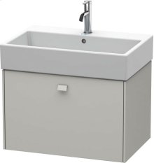 Vanity Unit Wall-mounted, For Vero Air # 235070concrete Grey Matt Decor