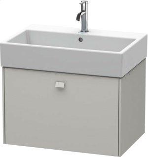 Vanity Unit Wall-mounted, For Vero Air # 235070concrete Gray Matt Decor Product Image