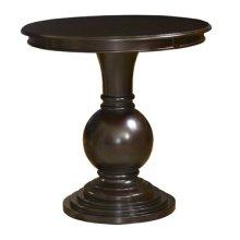 """""""Espresso"""" Round Accent Table"""
