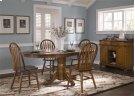 5 Piece Pedestal Table Set Product Image