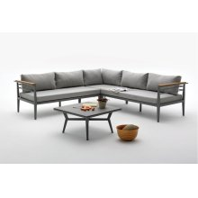 Renava Skyros Outdoor Grey Sectional Sofa Set
