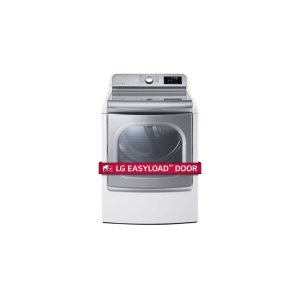 LG Appliances9.0 Cu. Ft. Mega Large Capacity TurboSteam Dryer With EasyLoad Door