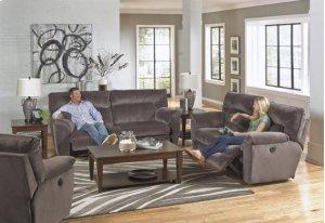 Lay Flat Reclining Sofa - Granite