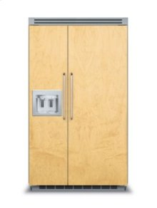 "48"" Quiet Cool™ Custom Panel Side-by-Side with Dispenser"