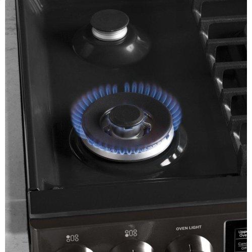"GE Profile™ 30"" Smart Slide-In Front-Control Gas Range"