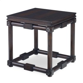 Medallion Accent Table