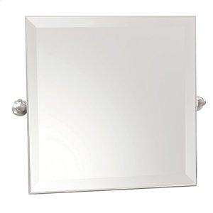 "Polished Chrome 20"" x 20"" Small Frameless Mirror"