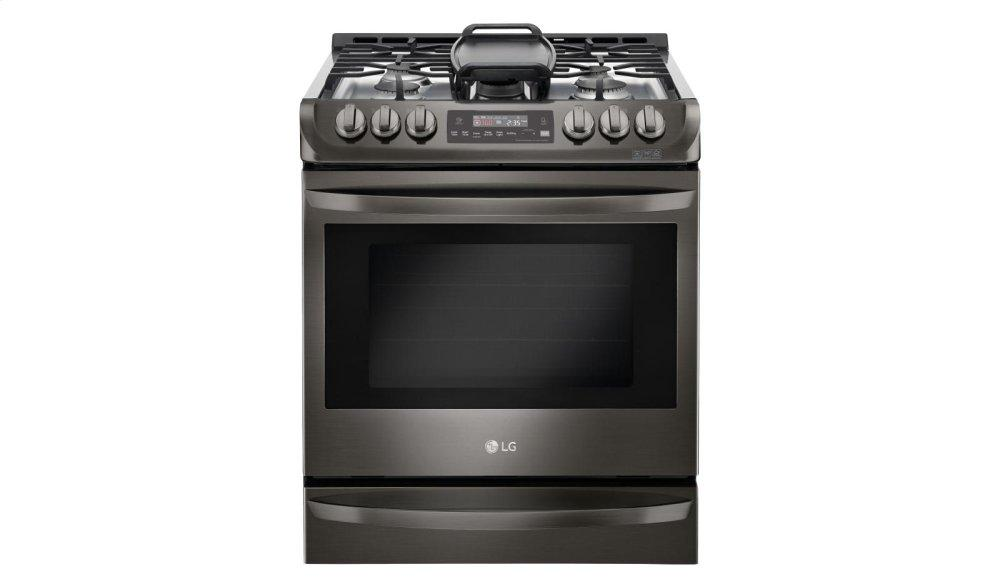 LG Appliances6.3 Cu. Ft. Gas Single Oven Slide-In Range With Probake Convection® And Easyclean®
