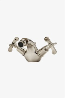 Henry One Hole Bidet Fitting with Cross Handles STYLE: HNBF01
