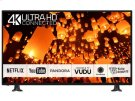 "Panasonic 50"" Class (49.5"" Diag.) 4K Ultra HD Smart TV CX400 Series TC-50CX400U - BLACK Product Image"