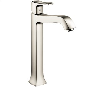 Polished Nickel Single-Hole Faucet 250 with Pop-Up Drain, 1.2 GPM