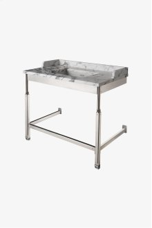 "R.W. Atlas Metal Two Leg Single Washstand 40"" x 23"" x 31 3/4"" STYLE: RWWS01"